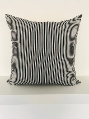 Black & White Stripe Cushion Cover