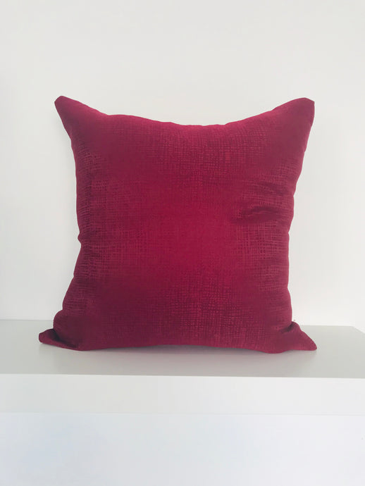 Dark Red Cushion Cover