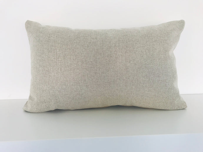 Woven Beige Cushion Cover