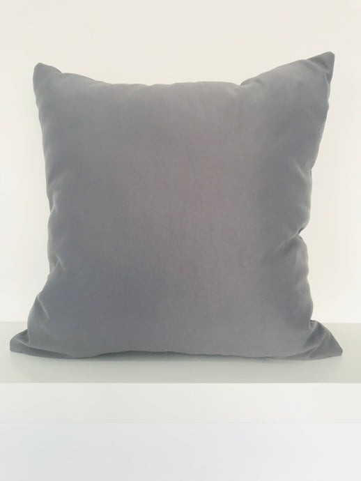 Charcoal Cushion Cover