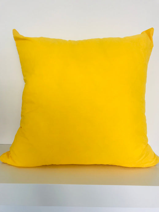 Colourful Poly-Cotton Cushion Cover
