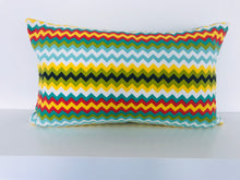 Colourful ZigZag Cushion Cover