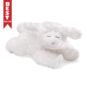 Winky Lamb Rattle White, 7""