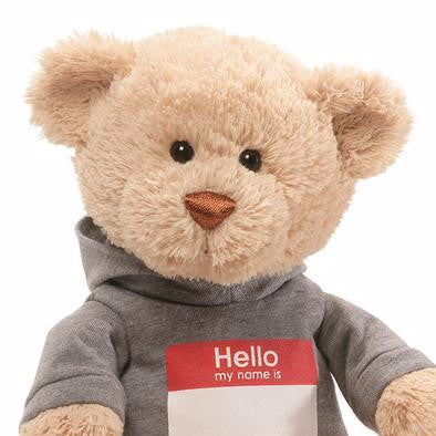 Name Tag Teddy 12 in