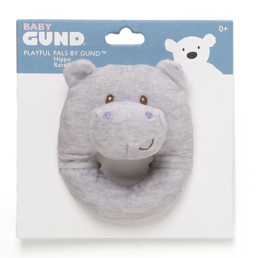 Playful Pals Hippo Rattle