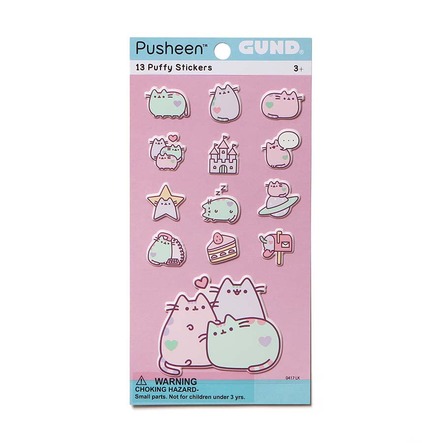 Pastel Pusheen Stickers