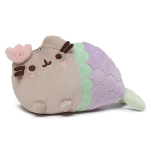 Pusheen Mermaid with Clam, 7 in