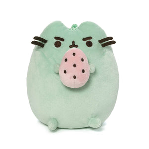 Pusheenosaurus Standing with Egg, Green, 6 in