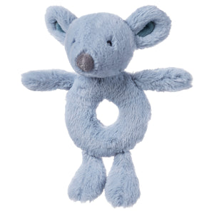 Baby Toothpick Mouse Rattle, 7.5""