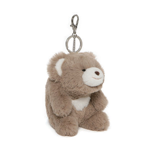 Snuffles Keychain Taupe, 5""