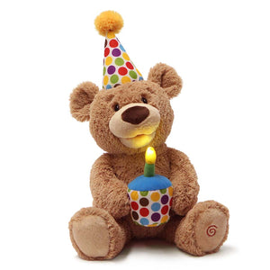 Happy Birthday Animated Teddy