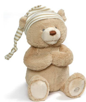 Animated Goodnight Prayer Bear