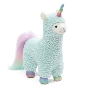 Cotton Candy Llamacorn, 11""