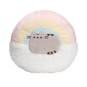 Pusheen Rainbow Pillow, 13 in
