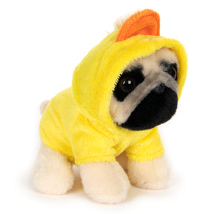 Doug the Pug Duck Hoodie