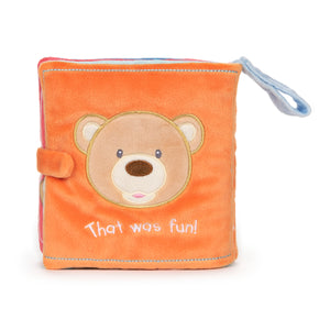 Peek-a-Boo Bear Soft Book, 8 in
