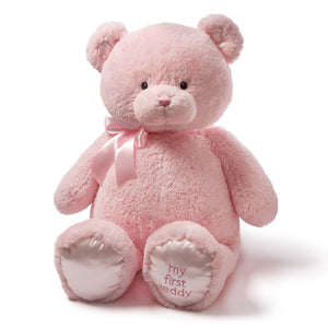 Jumbo My 1st Teddy, Pink, 36 in