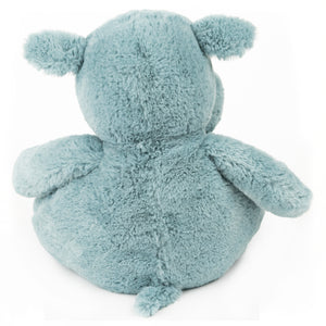 GUND Baby GUND Oh So Snuggly Hippo Large Plush Stuffed Animal Understuffed and Quilted for Tactile Play and Security Blanket Feel