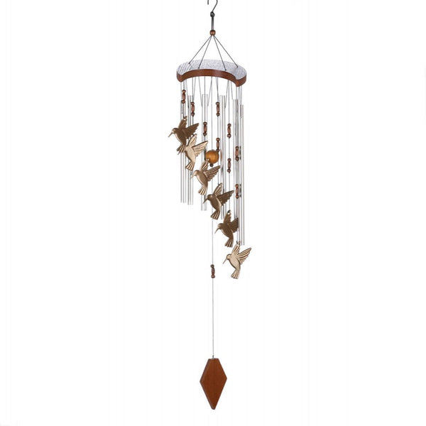 Hummingbird Cascading Windchime - Red Dragon Unleashed
