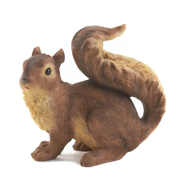 Curious Squirrel Garden Statue - Red Dragon Unleashed