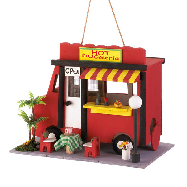 Hot Dog Birdhouse - Red Dragon Unleashed