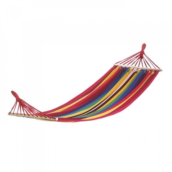 Bahama Red Stripes Single Hammock - Red Dragon Unleashed