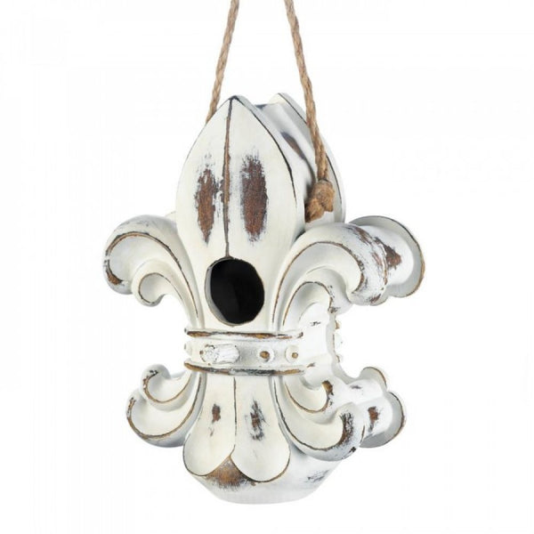 Fleur De Lis Birdhouse - Red Dragon Unleashed
