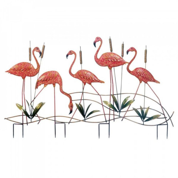 Flamingo Garden Stake - Red Dragon Unleashed