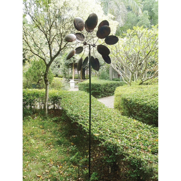 Large Spoon Garden Windmills - Red Dragon Unleashed