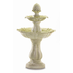 Acorn Water Fountain - Red Dragon Unleashed