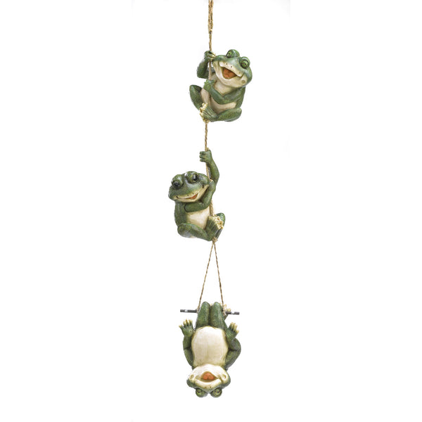 Frolicking Frogs Hanging Decor - Red Dragon Unleashed