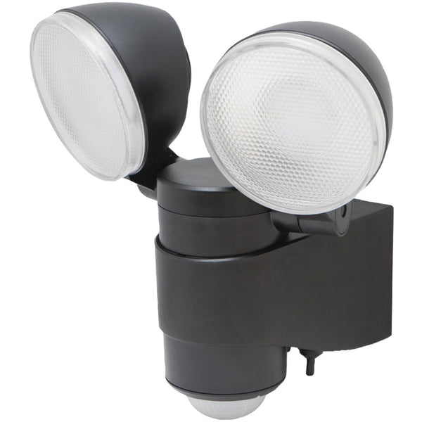 Maxsa Innovations Battery-powered Motion-activated Dual-head LED Security Spotlight - Red Dragon Unleashed