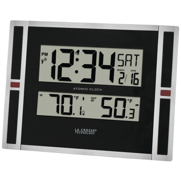La Crosse Technology Indoor Outdoor Thermometer & Atomic Clock - Red Dragon Unleashed