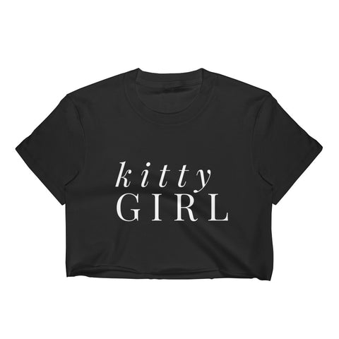 Kitty Girl Crop Top