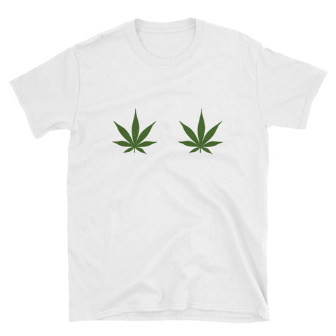 Pot Leaf T-Shirt - Melmon Squad