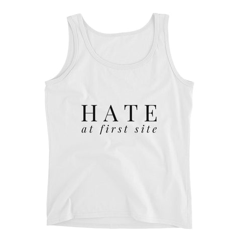 Hate At First Site Tank Top - Melmon Squad
