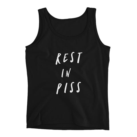 Rest In Piss Tank Top - Melmon Squad