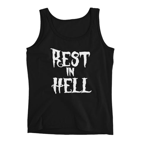 Rest In Hell Tank Top - Melmon Squad