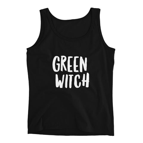 Green Witch Tank Top - Melmon Squad