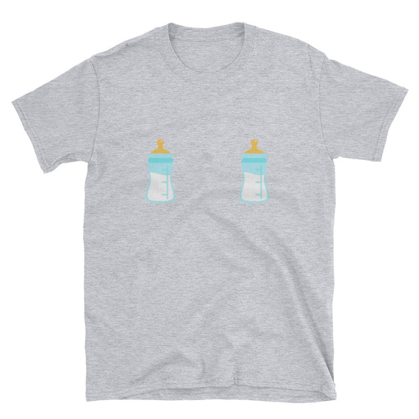 Baby Bottle T-Shirt - Melmon Squad