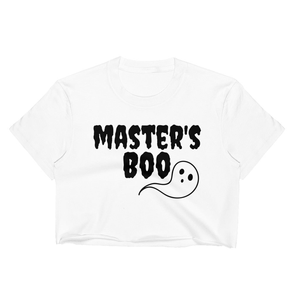 Master's Boo Crop Top