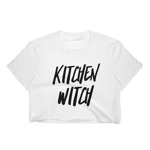 Kitchen Witch Crop Top
