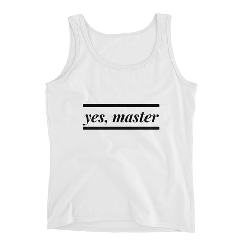 Yes, Master Tank Top