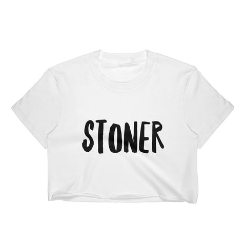 Stoner Crop Top - Melmon Squad