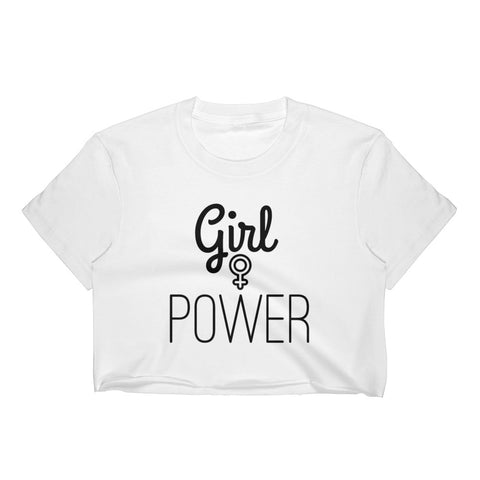 Girl Power Crop Top - Melmon Squad