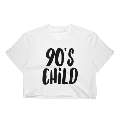 90's Child Crop Top - Melmon Squad
