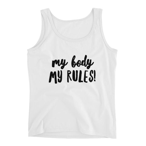 My Body My Rules! Tank Top