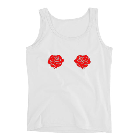 Red Rose Tank Top - Melmon Squad