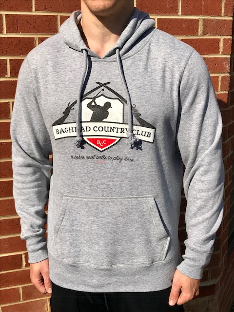 Classic BCC Hoodie - Grey