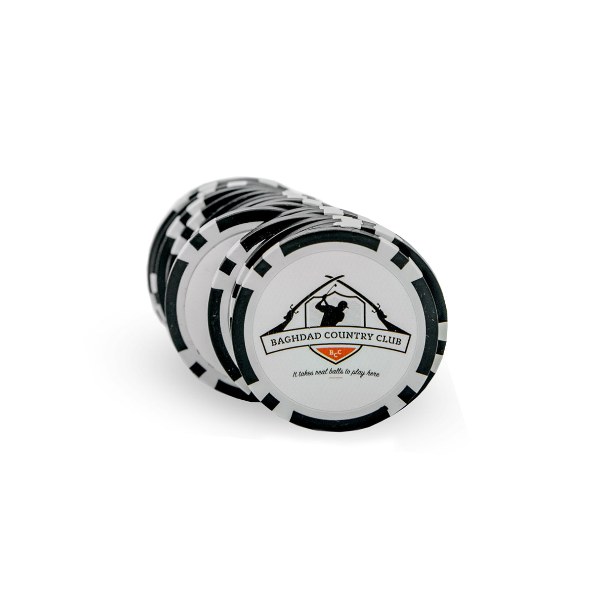 Set of 4 Poker Chips